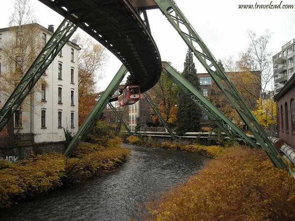 القطارات المعلقة فيألمانيا