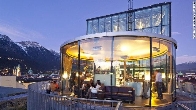 مدينة أنسبروك النمساوية عاصمة أقليم تيرول في المرتية الخامسةضمن