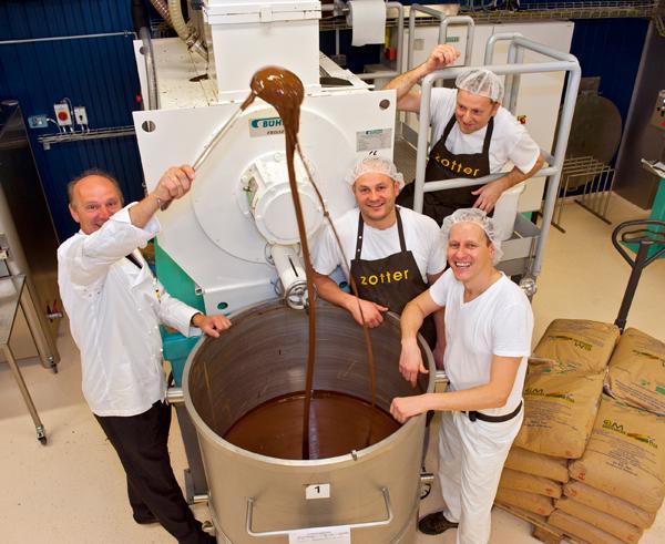 """مصنع الشوكولاتة النمساوي زوتير """" Zotter"""""""
