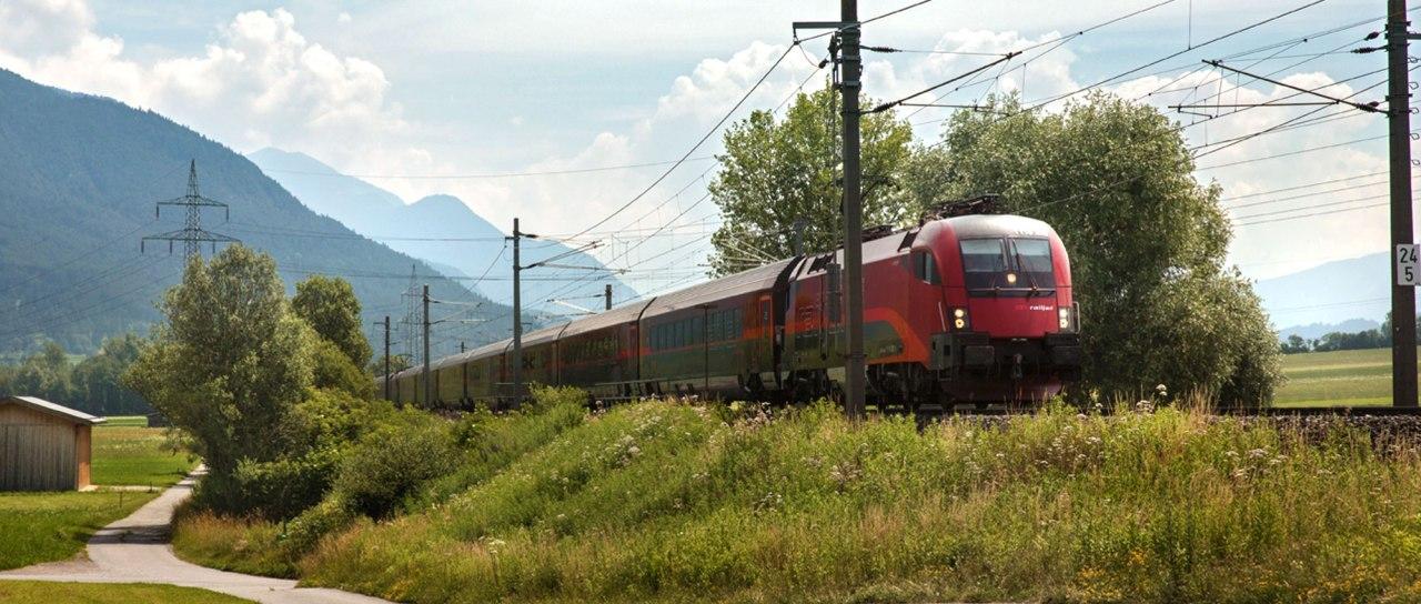شرح شراء تذاكر القطار النمساوي منالانترنت