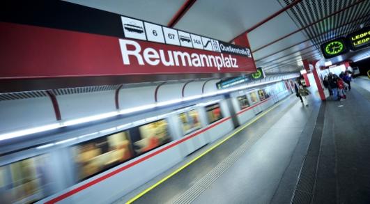إستئناف رحلات المترو الخط الأحمر U1 بين محطة Reumannplatz ومحطةSchwedenplatz