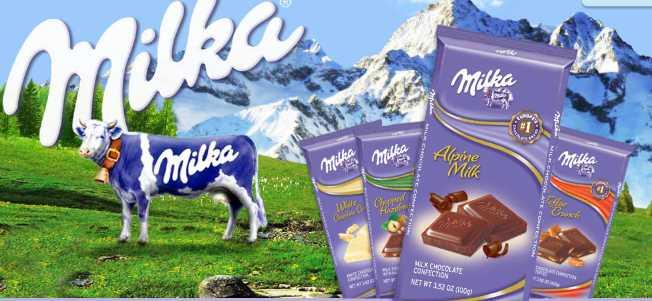 شوكولاتة ميلكا الأوروبية