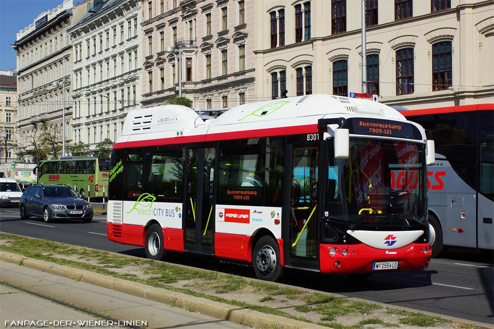 الحافلات الكهربائية في سنترفيينا