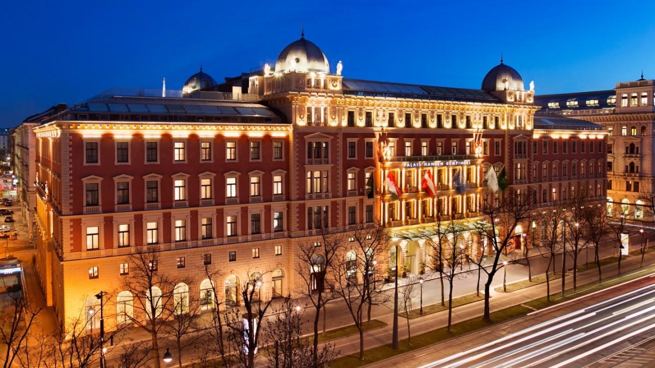 افتتاح فندق قصر كمبينسكي هانس في قصرهانسن التاريخي فيفيينا