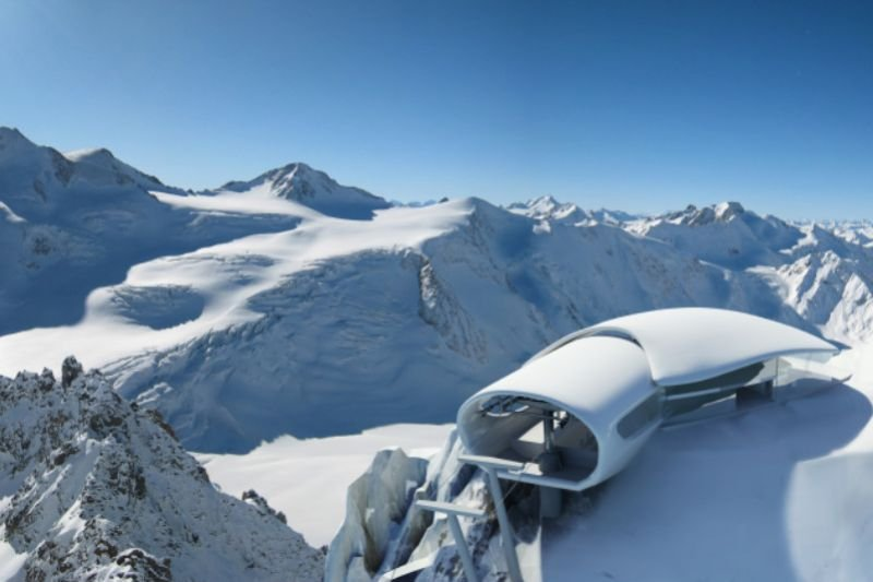 رحلة إلى أعلى تلفريك في النمسا على الإطلاق فيتيرول