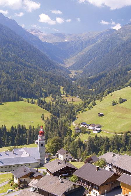 وادي ليساشتال الجبلي.. عنوان الهدوء فيالنمسا