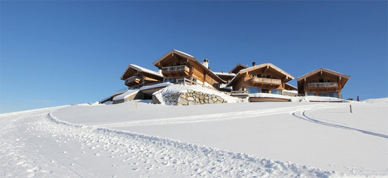 Maierl-Chalets-im-Winter
