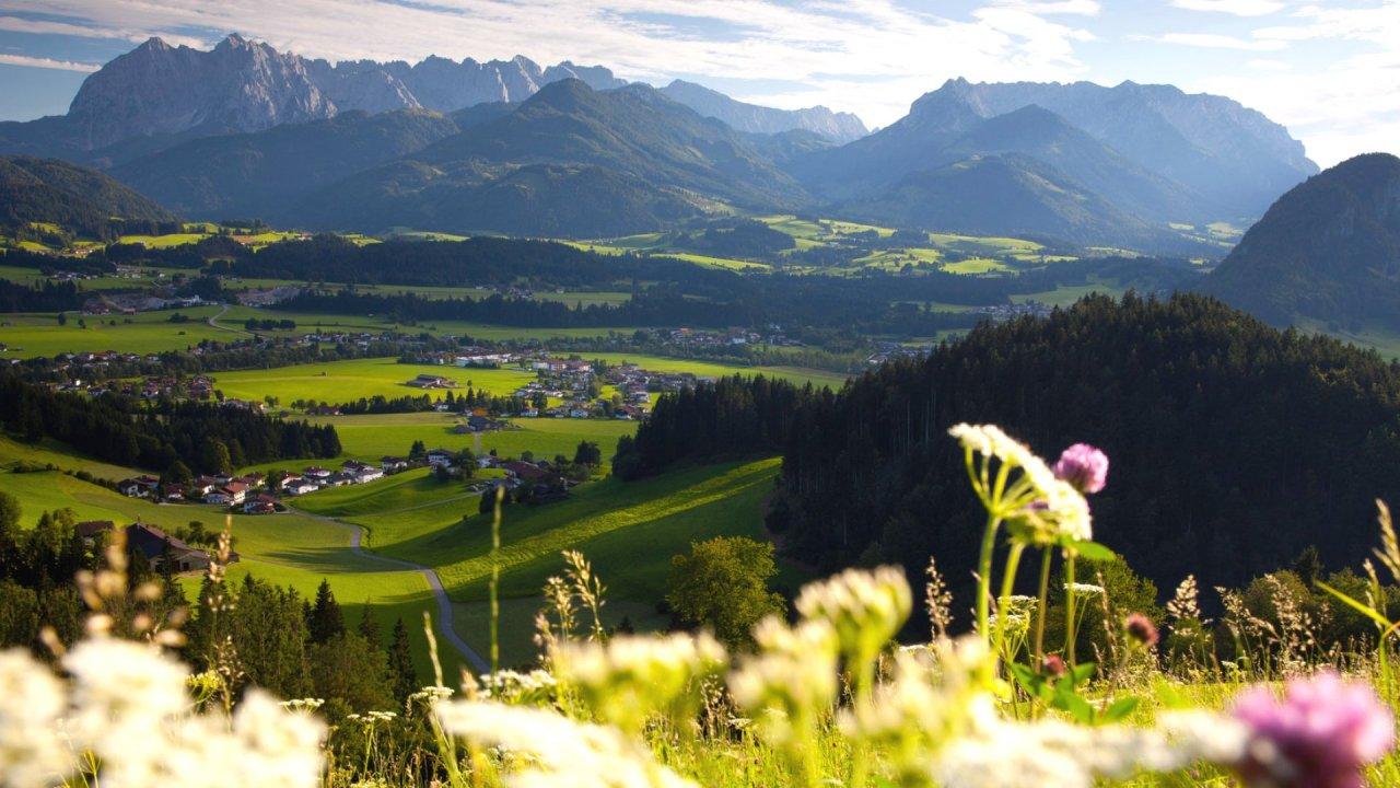 الطبيعة الخلابة في الريف الامبراطوريالنمساوي