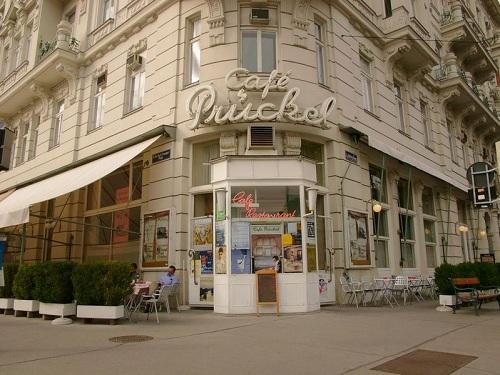 Cafe Prückel, Vienna, Austria