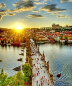 Castle-Charles-Bridge-in-Prague