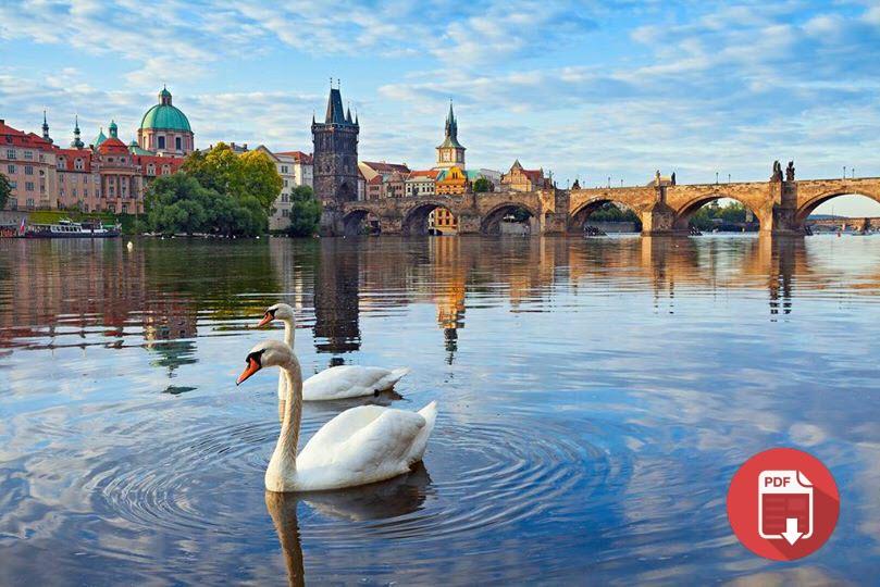 الدليل الارشادي للسياحية في بلاد التشيك. ملفPDF