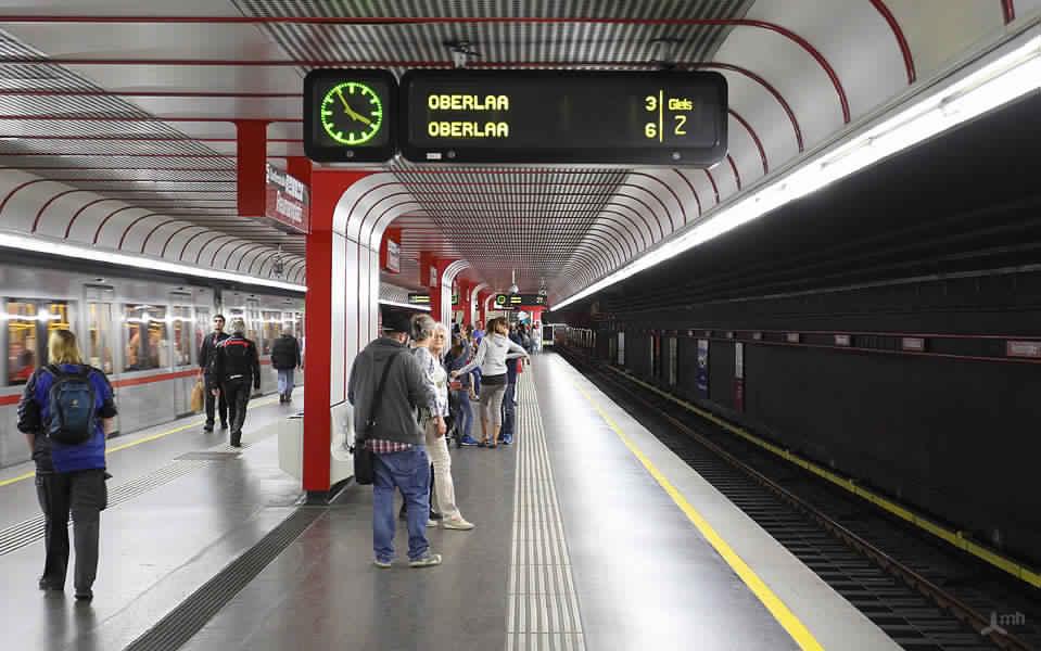 إفتتاح تمديدات الخط رقم 1 فيفيينا
