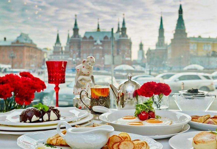 مطاعم موسكو البانورامية