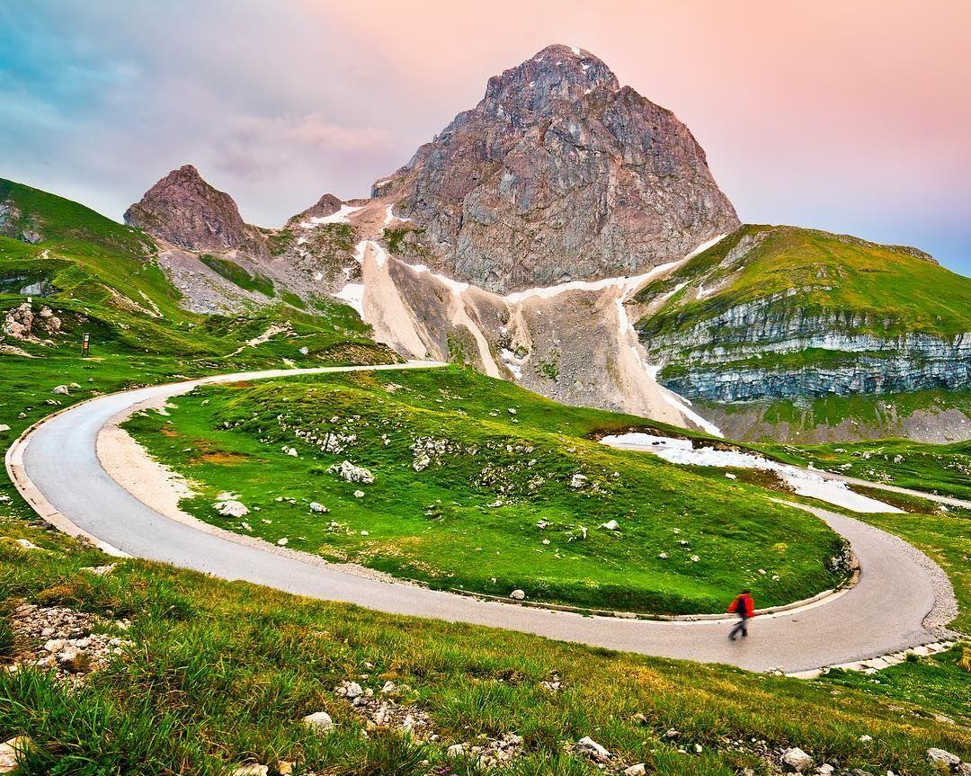 طريق مانغارت الجبلي الأكثر جمالاً فيسلوفيينا