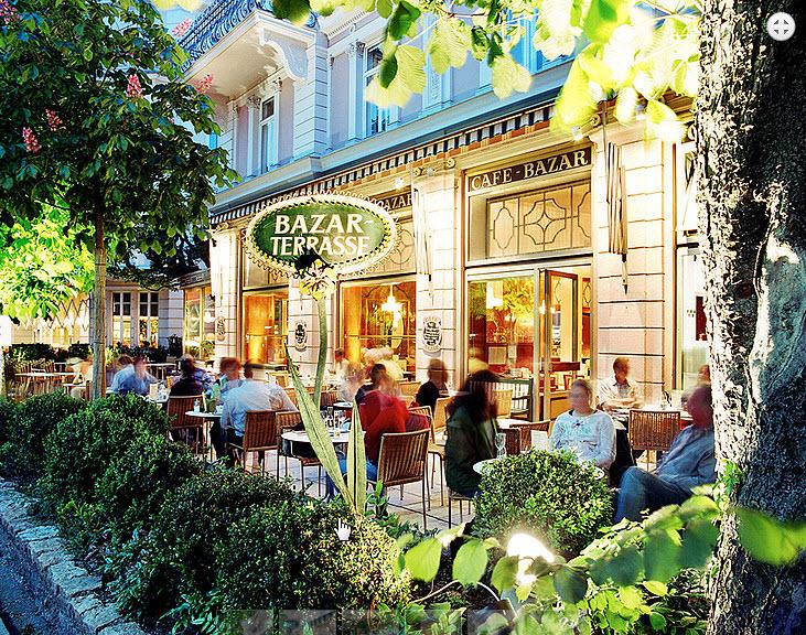 مقهى بازار فيسالزبورغ