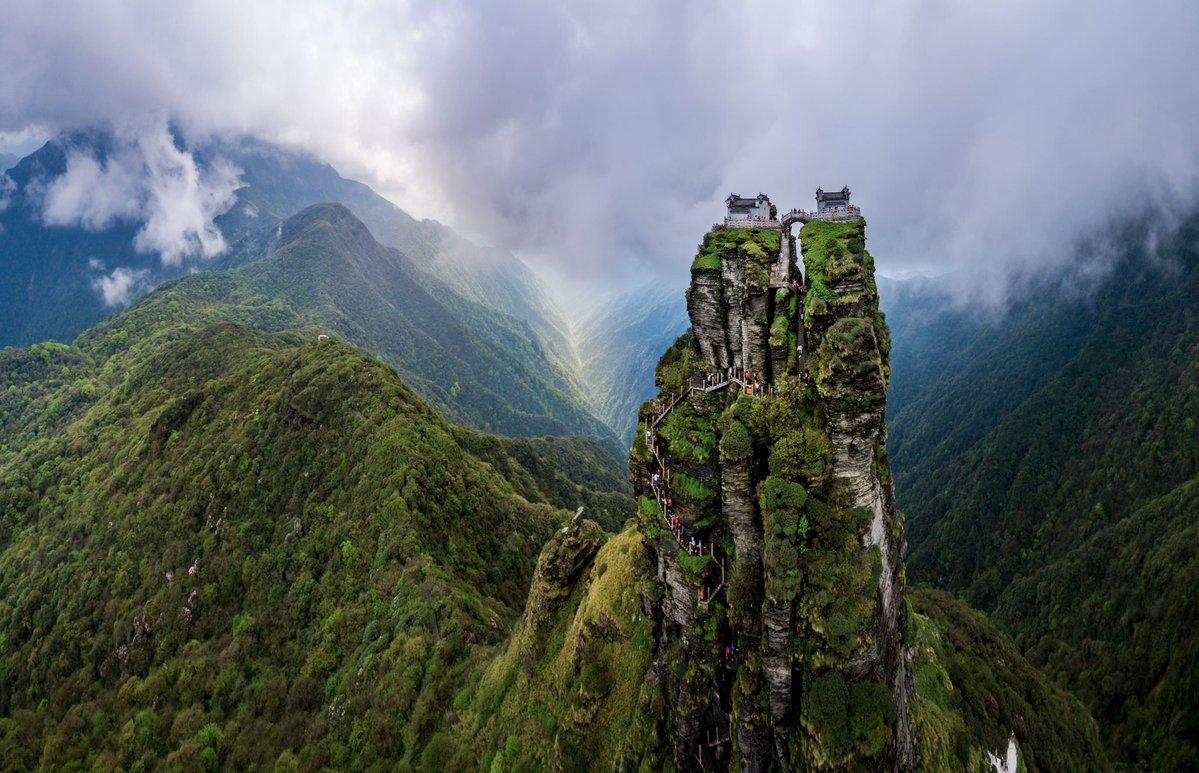جبل فانشينج شان فيالصين