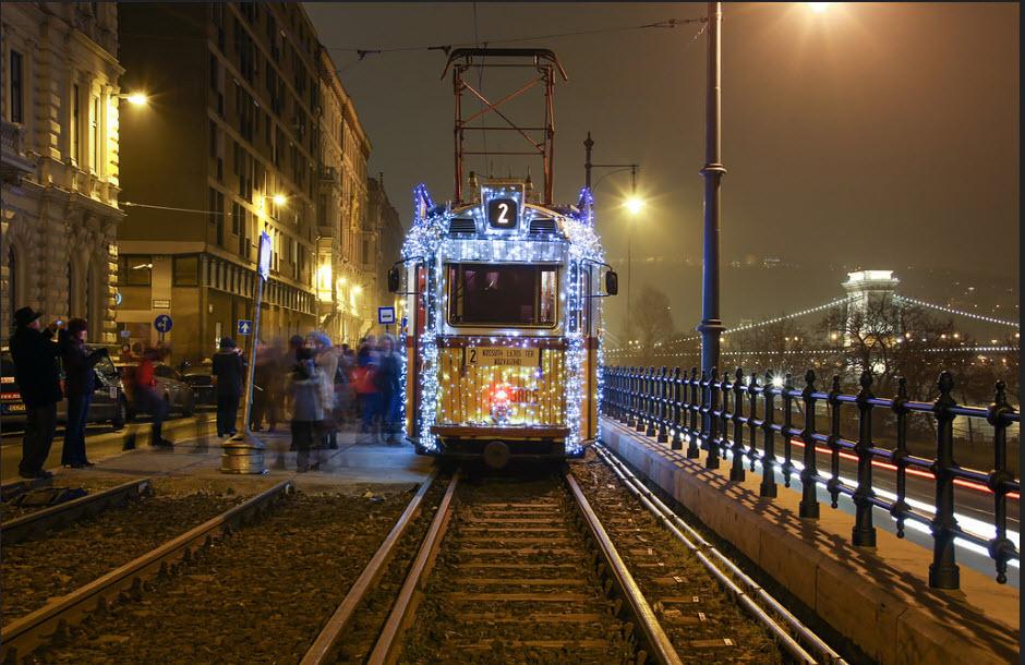 ترام عيد الميلاد فيالمجر